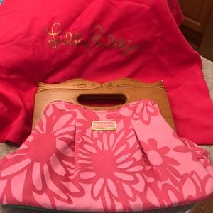 Lilly Pulitzer Hooked Up Clutch Vintage